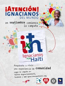 Campaña Ignacianos por Haití Septiembre